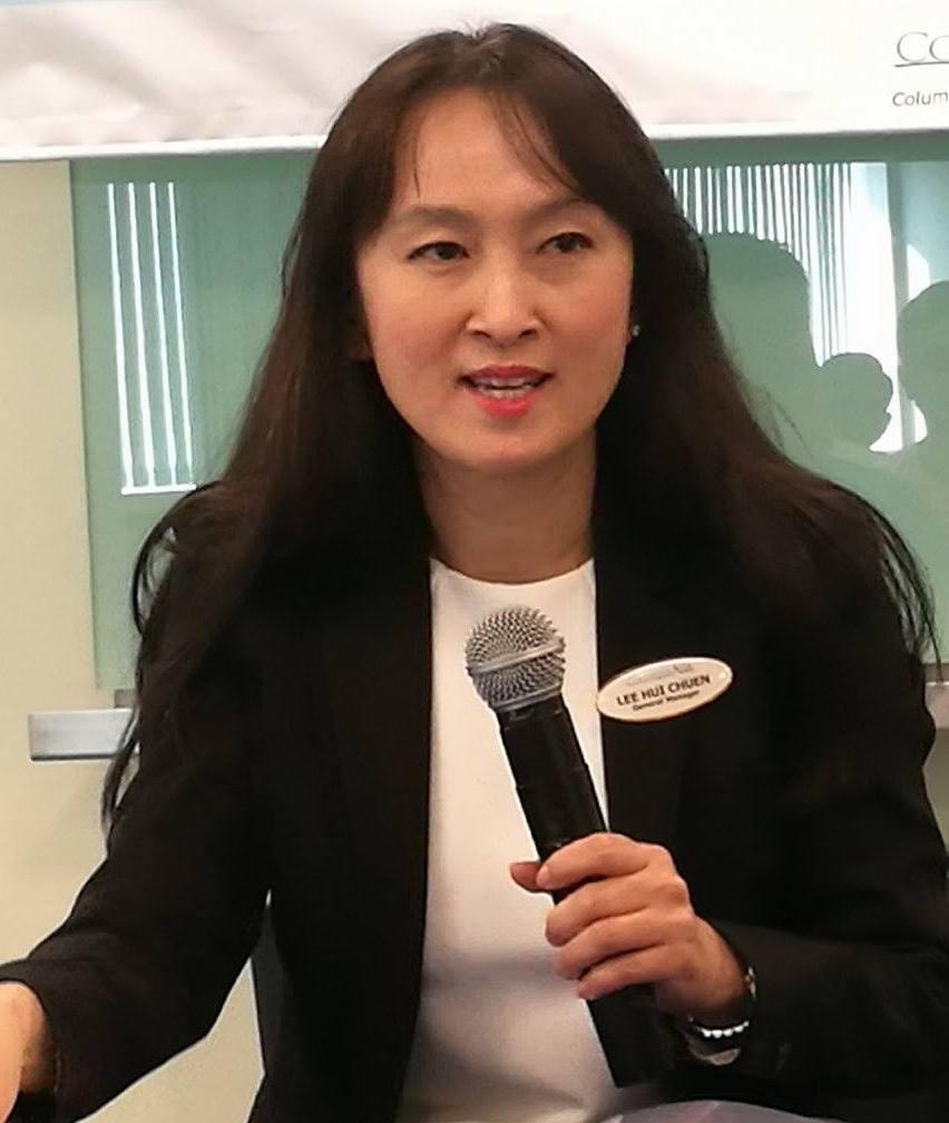 Ms Lee Hui Chuen, General Manager Columbia Asia Hospital-Seremban