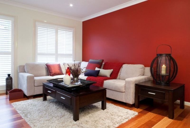 Contoh Warna Cat Dinding Ruang Tamu 17 Rumah Jos Tip Hiasan Sewa Bagi Pasangan Yang Baru Berkahwin