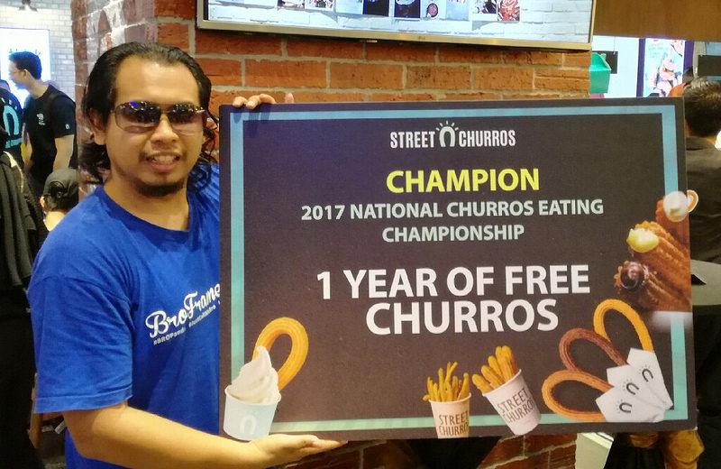 Menang Churros Percuma Selama Setahun Dari Street Churros Malaysia