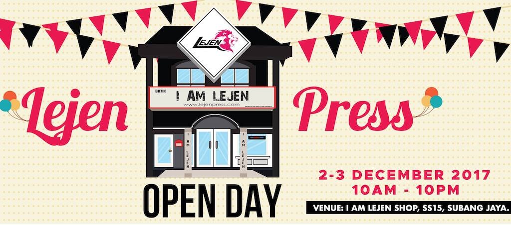 Lejen Press Open Day
