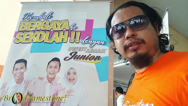 Sweet Aiman Junior, Uniform Sekolah Dari Aiman Tino Kini Dijual di Pasaraya Mydin