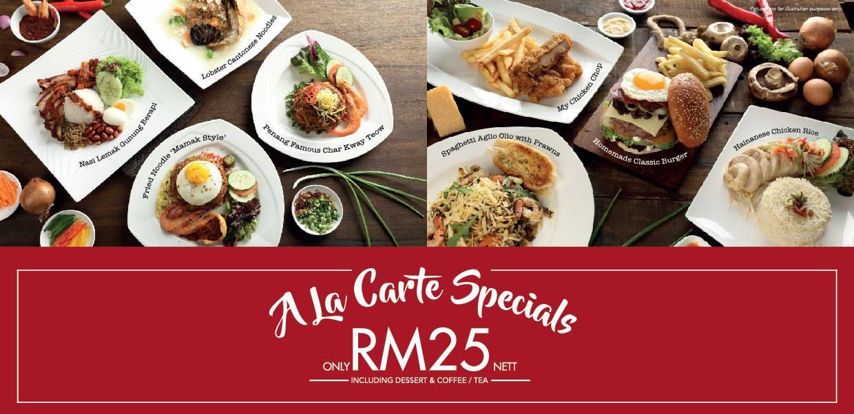 A La Carte Specials Coffee House, Sunway Putra Hotel