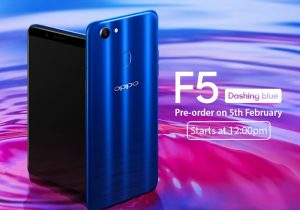 OPPO F5 Dashing Blue