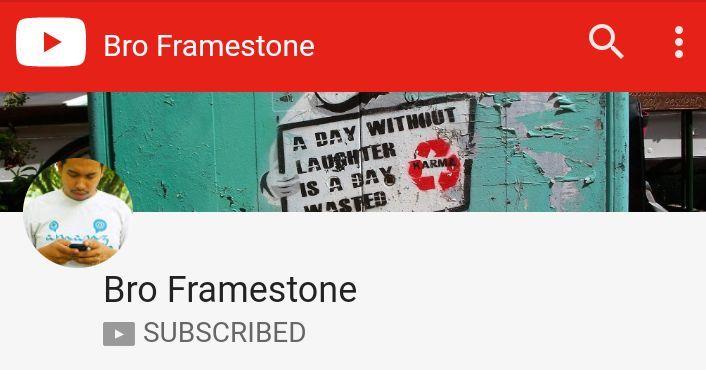 Youtube Channel Bro Framestone