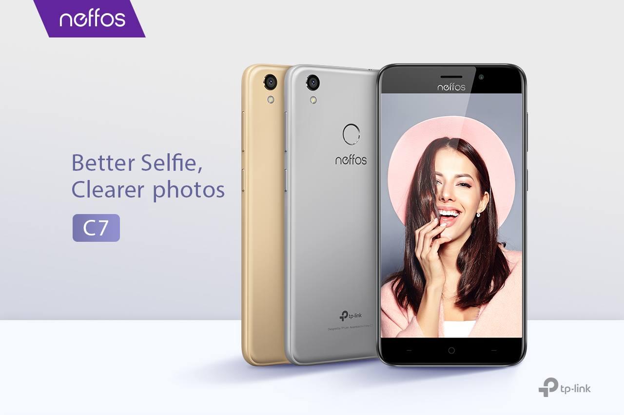 Neffos C7 Better Selfie Clearer Photos