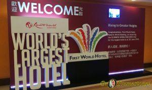 First World Hotel, Genting Highlands, SkyAvenue, Hotel Terbesar Di Dunia