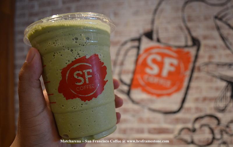 Minuman Teh Hijau Menyegarkan 'Matcharena' di San Francisco Coffee