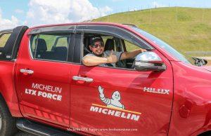 Michelin Off-Road Days - Berpeluang Pandu Uji Tayar Michelin FTX Force