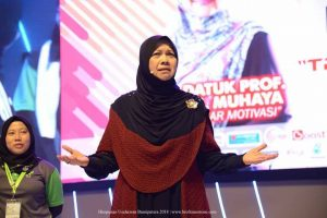 Prof Datuk Dr Muhaya Himpunan Usahawan Bumiputera 2018