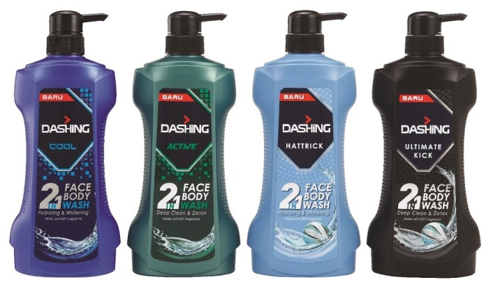 Dashin Face & Body Wash