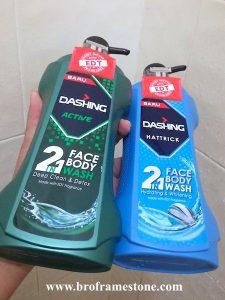 Dashing 2in1 Face Body Wash