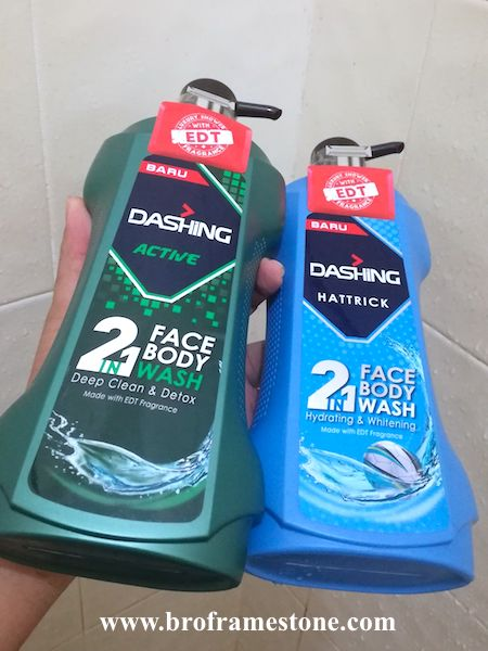 Dashing 2in1 Face Body Wash