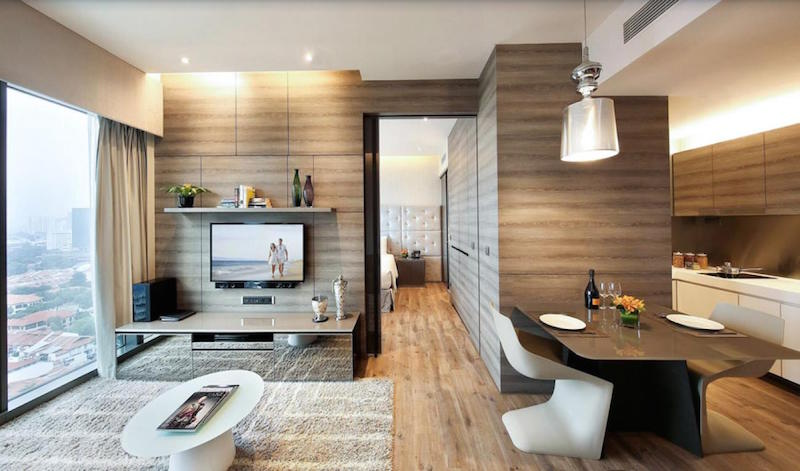 Home Decor Arrangement Ideas with Serviced Apartment In Singapore