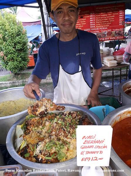 Nasi Beriani Gham Special Bandar Tasik Puteri, Rawang