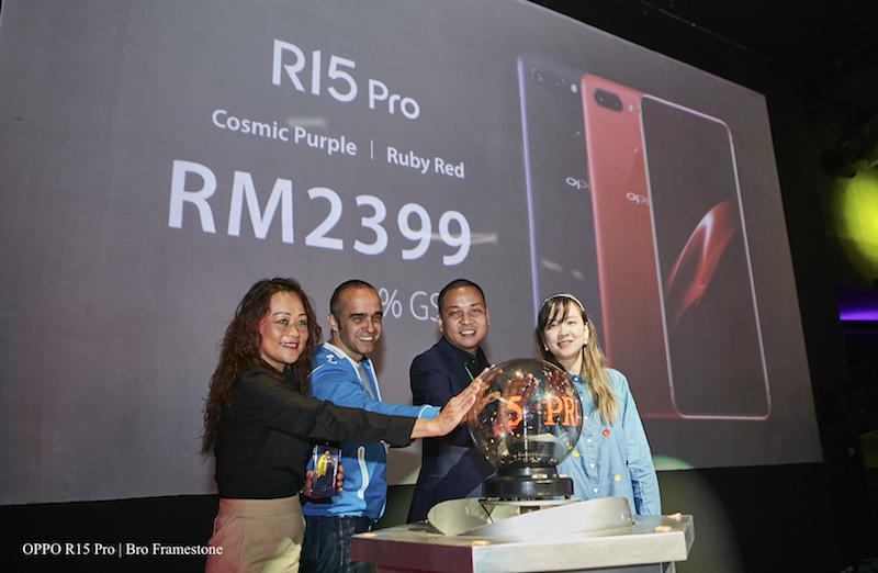 OPPO R15 Pro Dilancarkan Di Malaysia Pada Harga RM2,399