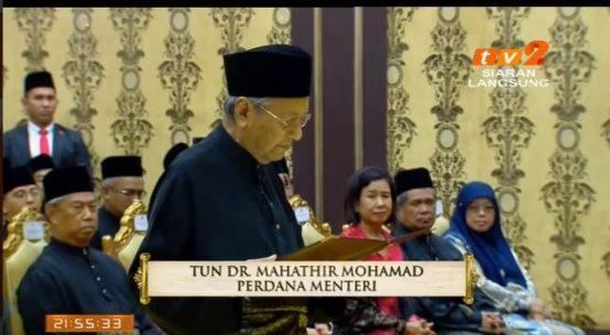 Tun Mahathir Perdana Menteri Malaysia Ke-7