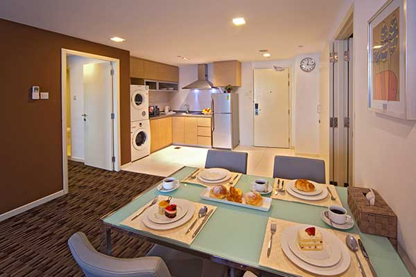 Your own kitchen Serviced Apartment