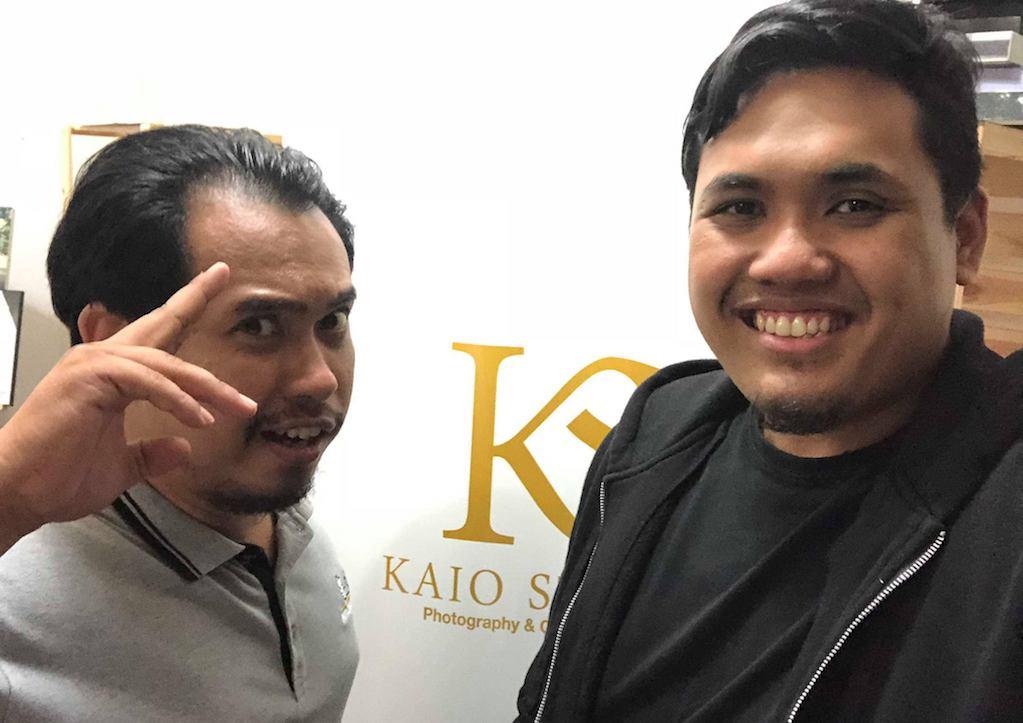 Bersama Kaio di Kaio Studio, Shah Alam