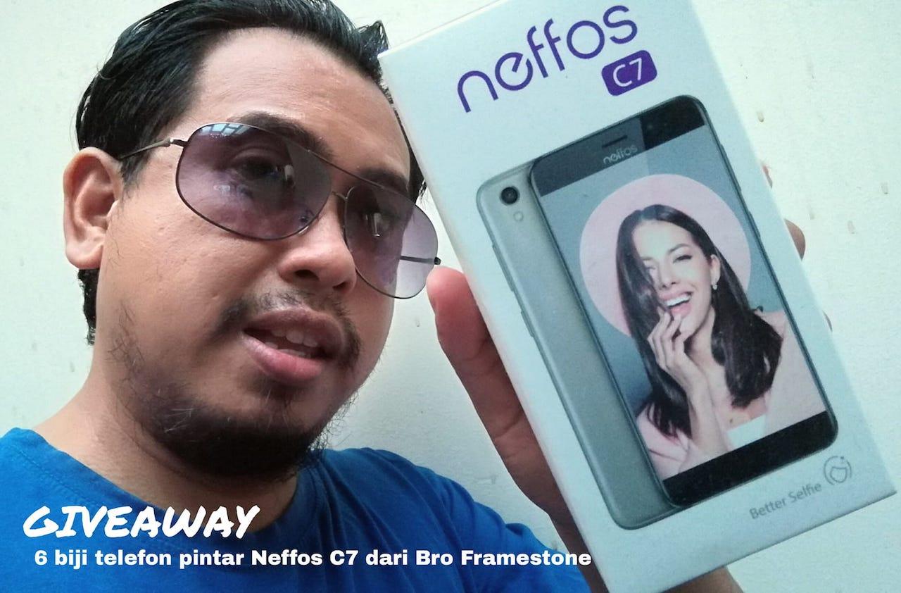 Kongsi Azam Tahun Baru 2019 & Menang Telefon Pintar Neffos C7