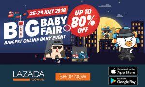Lazada Big Baby Fair July 2018