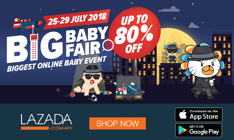 Lazada Big Baby Fair July 2018