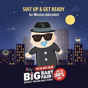 Lazada Big Baby Fair Mission