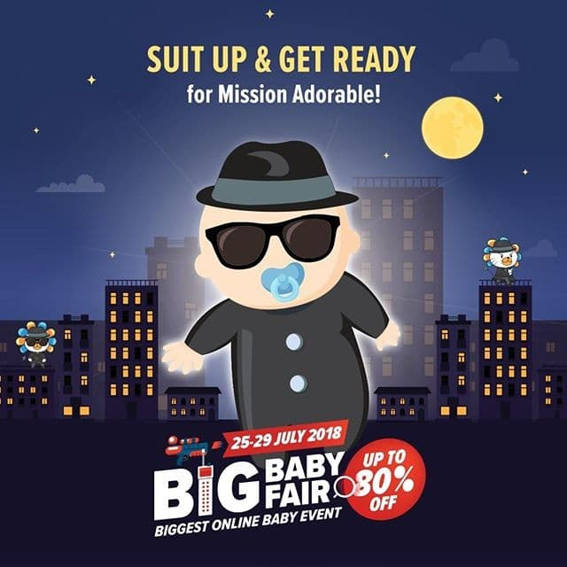 Lazada Big Baby Fair Mission