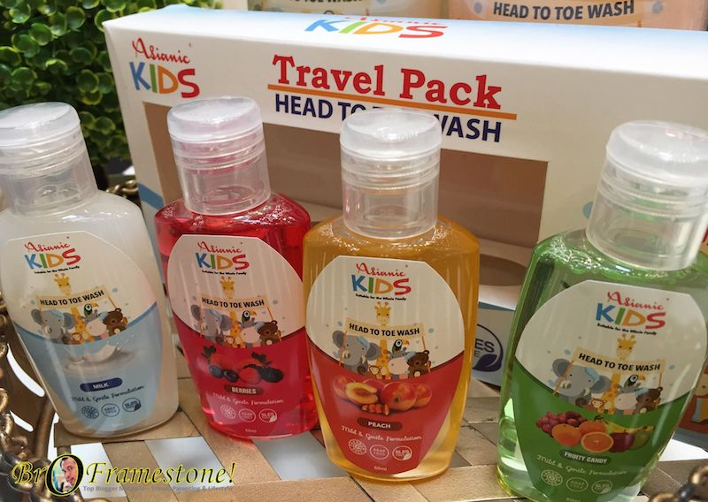Asianic Kids Travel Pack