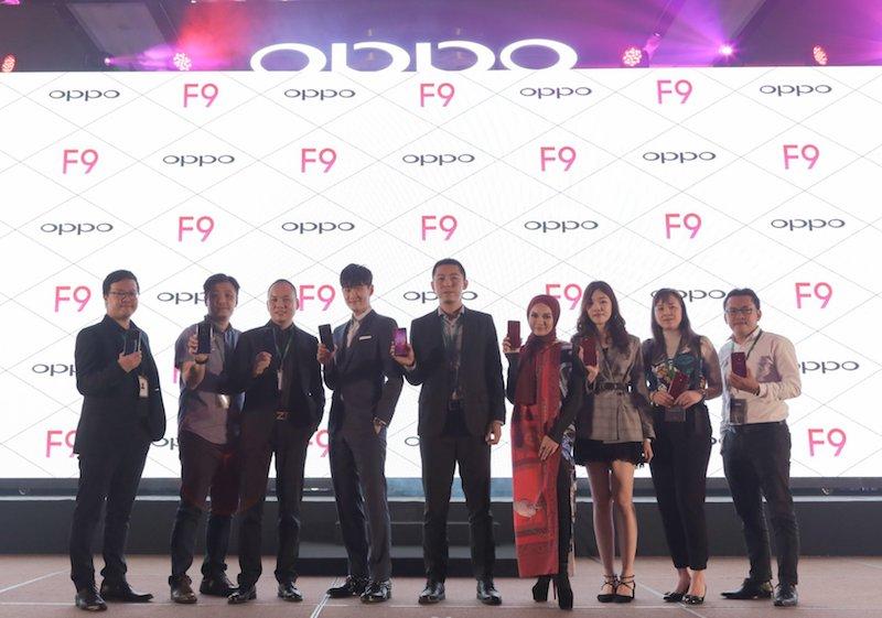 Pra-Tempahan OPPO F9 Dibuka Pada Harga RM1,399