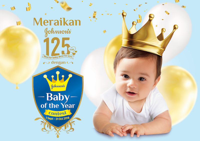 Johnson's® Baby of the Year Contest 2018 Kembali!
