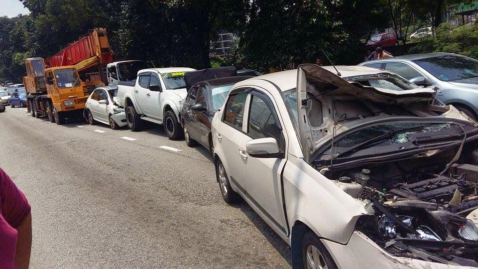 Hampir 3X Terlibat Dalam Kemalangan Dalam Masa 1 Hari