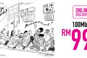 TIME Tawar Internet Berkelajuan 100Mbps Pada Harga RM99