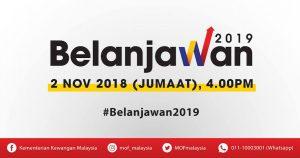 Belanjawan 2019 Kementerian Kewangan Malaysia