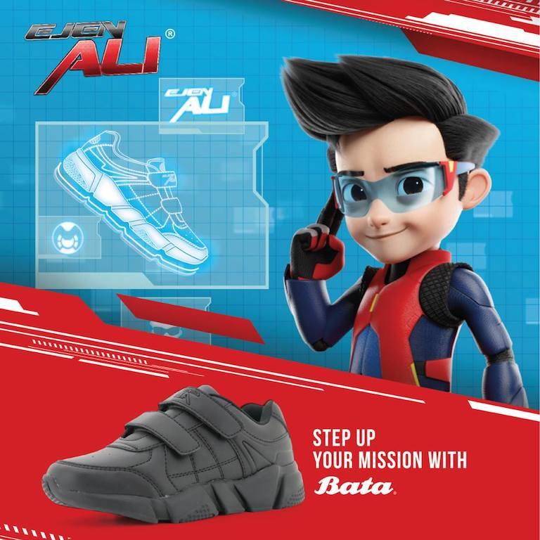 Bata Ejen Ali School Shoes