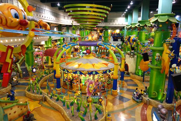 Fantasy Garden Berjaya Times Square Theme Park