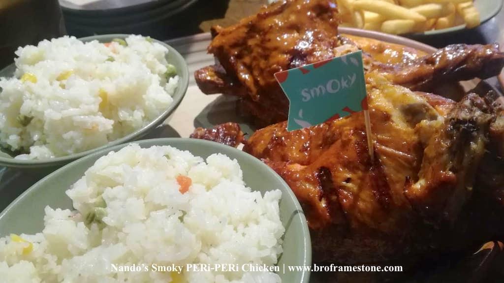 Menu Nandos Smoky PERi-PERi Chicken