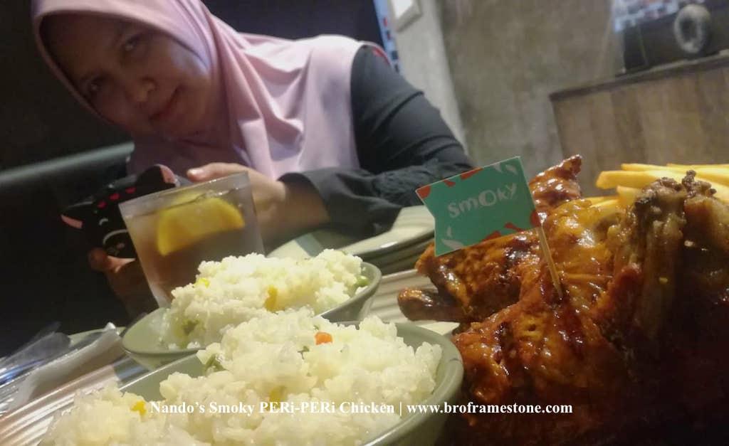 Nando's Smoky PERi-PERi Chicken Lebih Enak & Tidak Terlalu Pedas