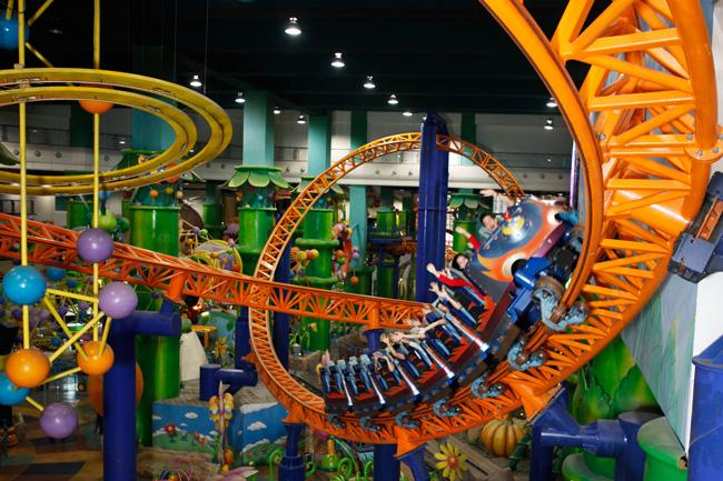 Berjaya Times Square Theme Park Menyeronokkan Seisi Keluarga