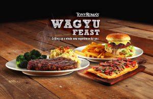 Tony Roma's Wagyu Feast