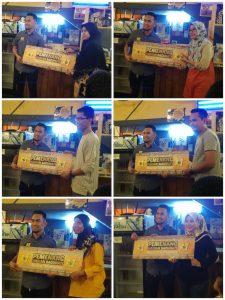Pemenang Saguhati A&J Burger Grill