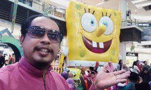 Patung SpongeBob SquarePants Terbesar Di Malaysia