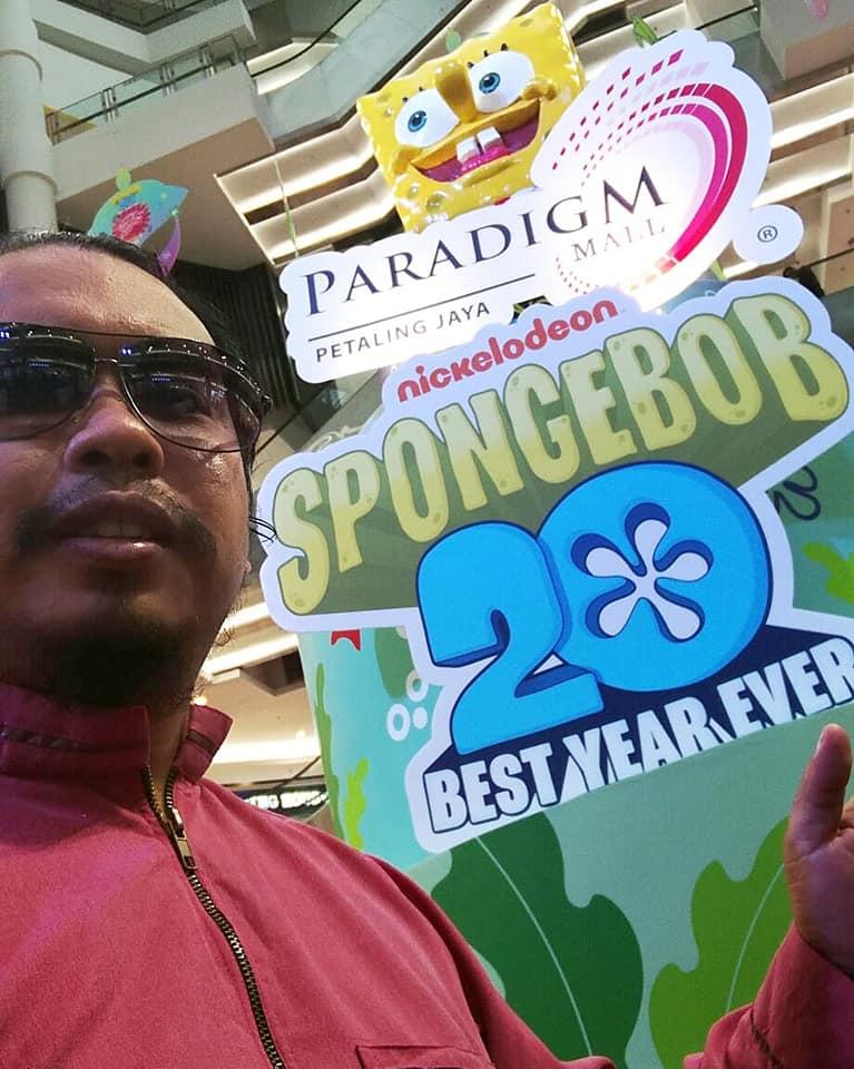 SpongeBob SquarePant Paradigm Mall PJ