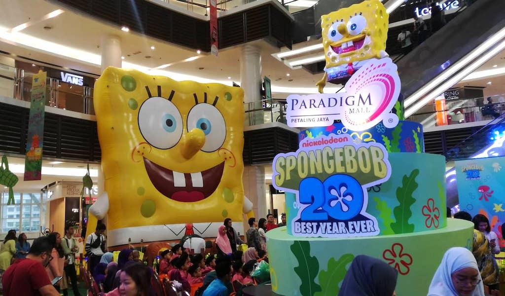 SpongeBob SquarePant Paradigm Mall