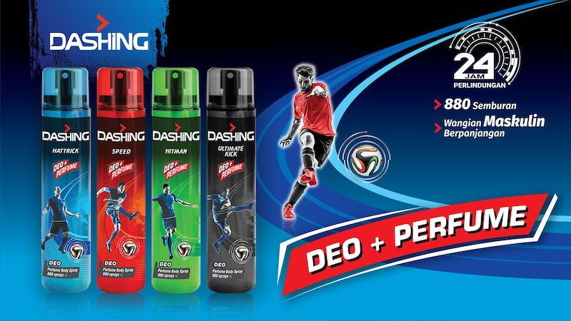 Dashing Deo + Perfume Spray