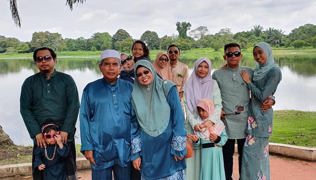Family Broframestone Raya Perak
