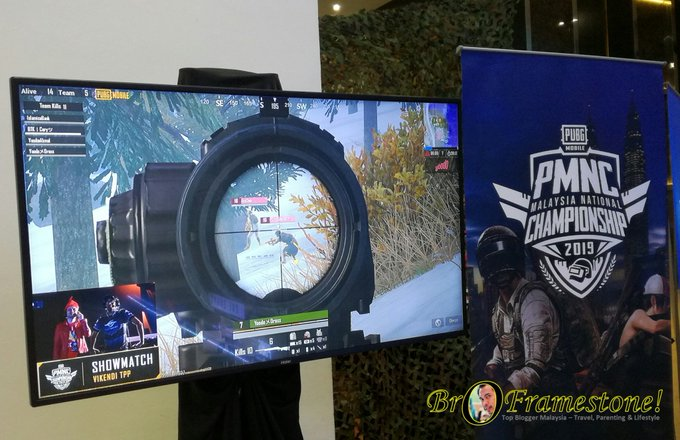 Aksi PUBG Mobile National Championship (PMNC 2019)