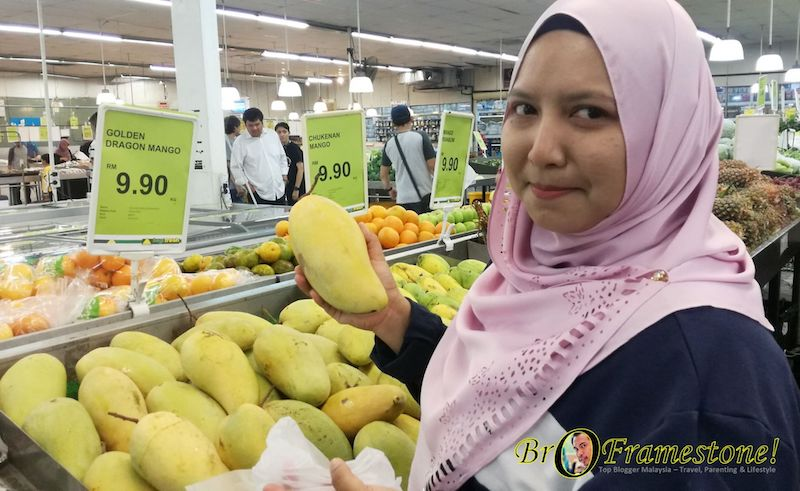 Golden Dragon Mango Segi Fresh Market