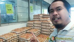 Harga Telur di Segi Fresh Market