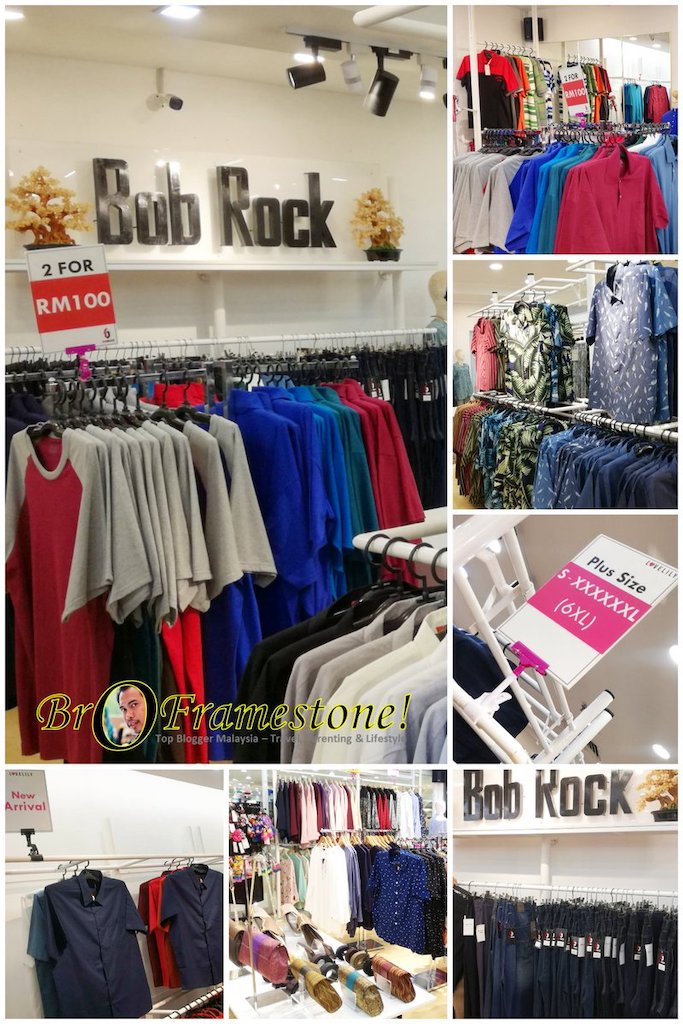 Plus Size Bob Rock, Plaza Shah Alam