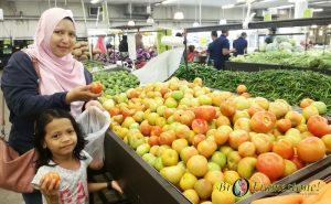 Sayur di Segi Fresh Market